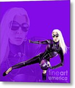 Brigitte More Metal Print