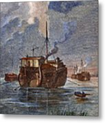 British Prison Ship Metal Print