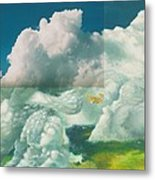 Brother In The Air Metal Print