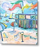 Buckroe Beach - En Plein Air Metal Print