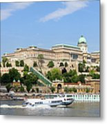 Buda Castle In Budapest Metal Print