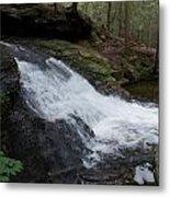 Buffam Falls Lower Cascade Metal Print