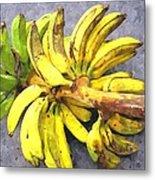 Bunch Of Banana Metal Print