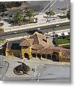 Burlingame Train Station Metal Print
