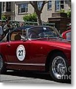 California Mille Metal Print