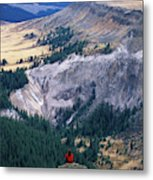 Camping On The Colorado Trail Metal Print