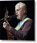 Canadian Folk Rocker Bruce Cockburn Metal Print