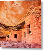 Canyon Ruins Metal Print