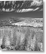 Capricious Clouds In The Volcanic Planet Metal Print