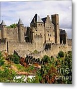 Carcassonne France Metal Print