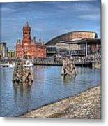 Cardiff Bay Metal Print