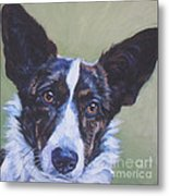 Cardigan Welsh Corgi Metal Print