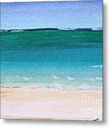 Ocean Turquoise Waters Metal Print