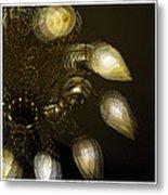 Cascading Light Metal Print