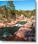 Castor River Shut Ins Metal Print
