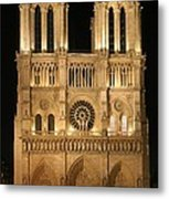 Cathedral Of Notre Dam Metal Print