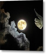 Caught By The Moon Metal Print