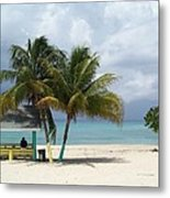 Cayman Beach Metal Print