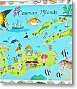 Cayman Islands Metal Print