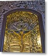 Chapel Of Bones Campo Maior Portugal 2011 Metal Print