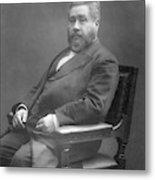 Charles Haddon Spurgeon (1834 - 1892) Metal Print