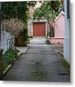 Charleston Alley Metal Print