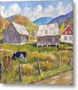 Charlevoix North Metal Print