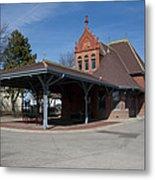 Chicago Rock Island Pacific Railway Depot Metal Print