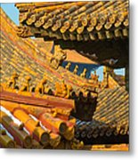 China Forbidden City Roof Decoration Metal Print