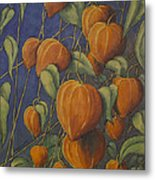 Chinese Lanterns Metal Print