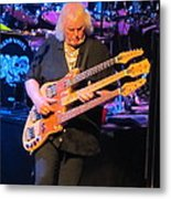 Chris Squire Of Yes Metal Print