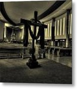 Church Of Saint Columba Metal Print