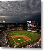 Cincinnati Reds V Washington Nationals Metal Print