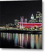 Cincinnati Skyline 3 Metal Print