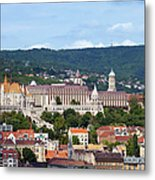 City Of Budapest Metal Print