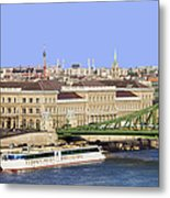City Of Budapest In Hungary Metal Print