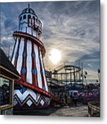 Clacton Pier Metal Print by Andrew Lalchan