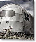 Classic Airstream Caravan Metal Print