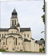 Cloister Fontevraud -  France Metal Print