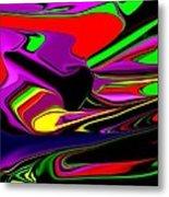 Colorful 3d Metal Print