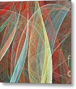 Colorful Figures Metal Print