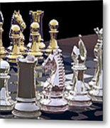 Competition - Chess Metal Print