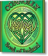 Connolly Soul Of Ireland Metal Print