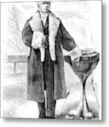 Cornelius Vanderbilt (1794-1877) Metal Print