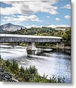 Cornish-windsor Covered Bridge IIi Metal Print