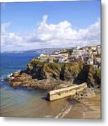 Cornwall - Port Isaac Metal Print
