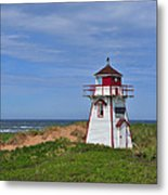 Covehead Harbour Lighthouse Metal Print