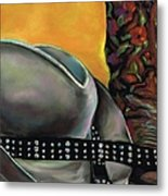 Cowgirl Necessities Metal Print