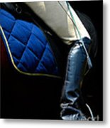 Crop And Boot  Metal Print