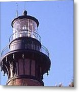 Currituck Beach Light Metal Print
